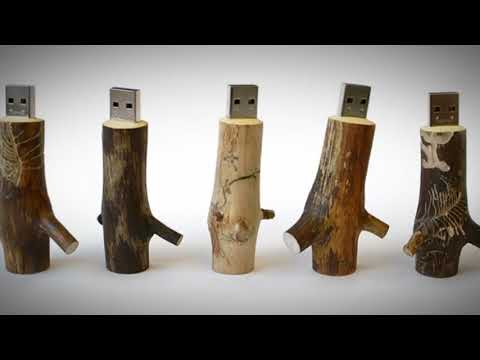 Buy wooden USB drive