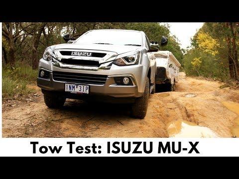 Isuzu MU-X LS-U manual tow test