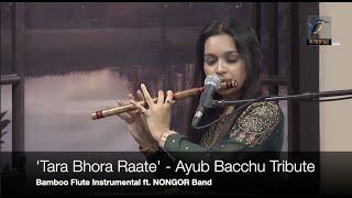 Tara Bhora Raate - Ayub Bacchu Tribute (Bamboo Flute Cover) by Fabihah