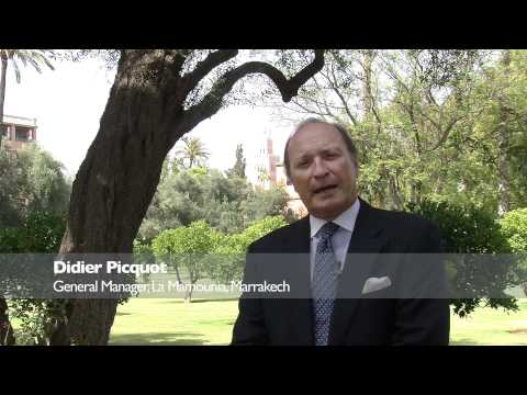 PURE Life Experiences TV Interview - Didier Picquot, General Manager, La Mamounia, Marrakech
