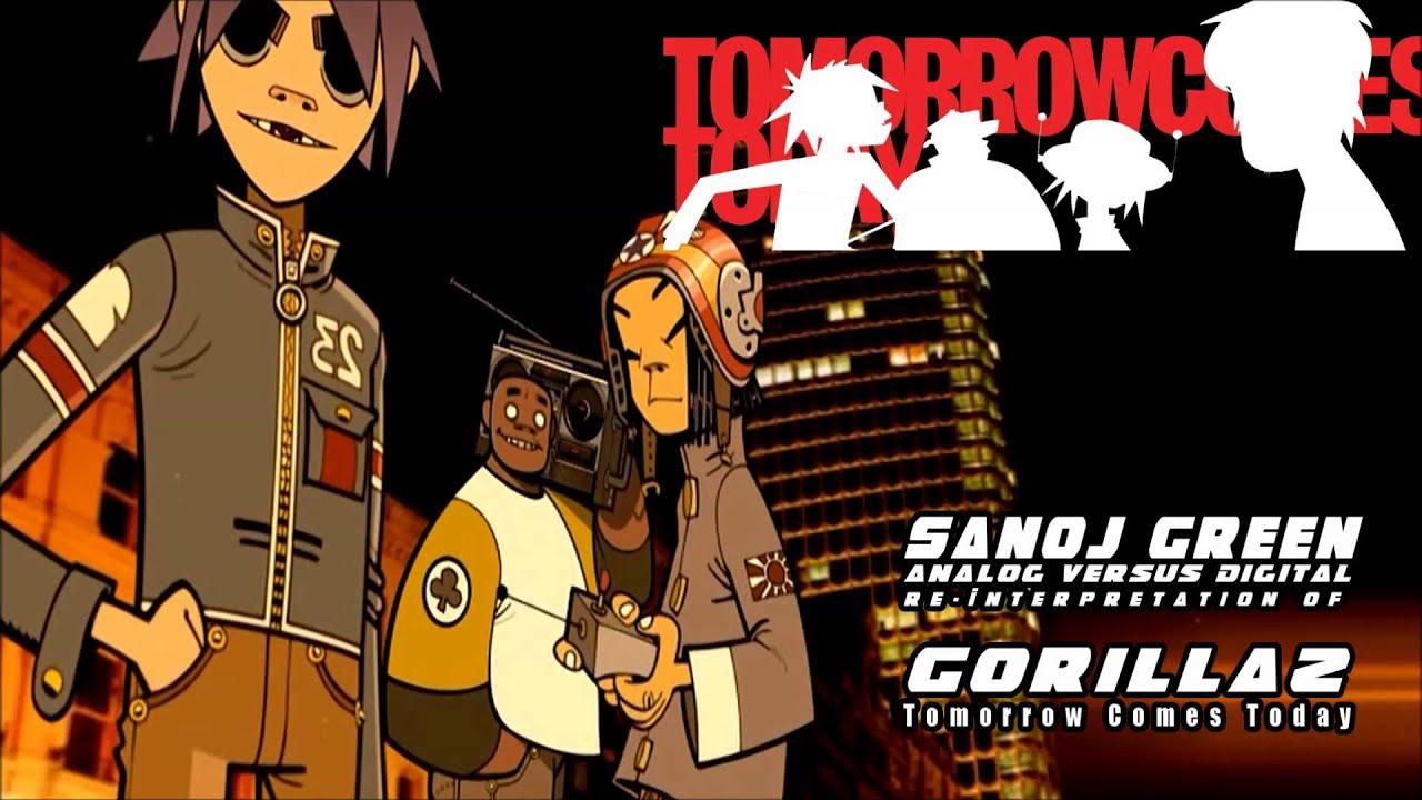 Sanoj Green - Tomorrow (Gorillaz - Tomorrow Comes Today) [Instrumental  Remix]