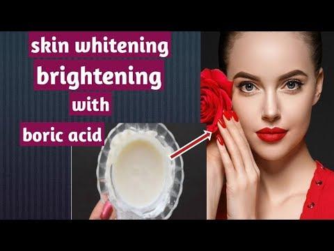 "💟Skin whitening and brightening with boric acid 💟""Vandana beauty and health tips"" thumbnail"
