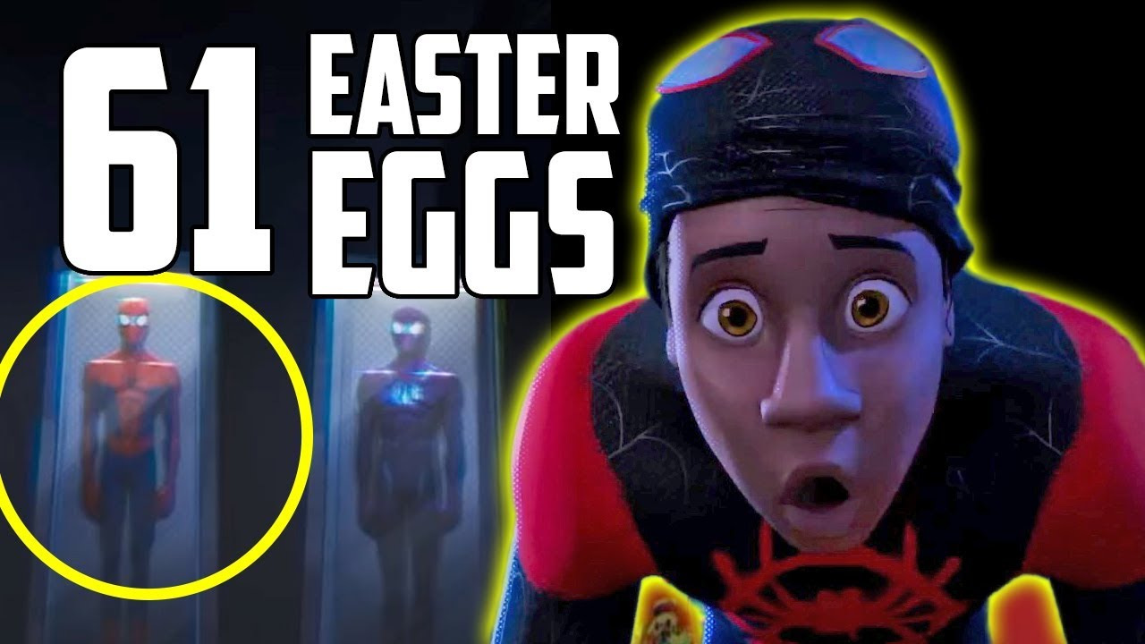 Spider Man Into The Spider Verse Every Easter Egg And Marvel Reference