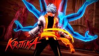 Repeat youtube video Kritika - Galaxy Lord (Monk) lvl 1~46 Gameplay (New Character) - F2P - KR