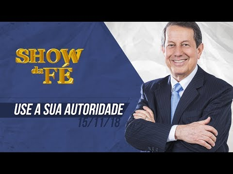 Show da Fé   Use a sua autoridade   RR Soares
