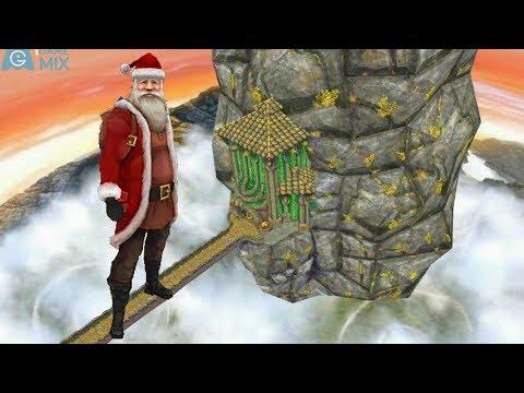 iGameMix😀TEMPLE RUN 2 Fullscreen☑️SANTA CLAUS Sky Summit Map*Gameplay For Kid#368