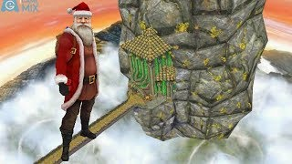 iGameMix😀TEMPLE RUN 2 Fullscreen☑️SANTA CLAUS Sky Summit Map*Gameplay For Kid#368