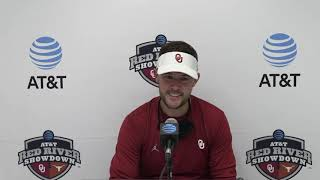 OU Football: Riley on 53-45 win over Texas