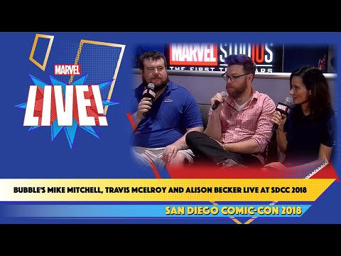 Bubble's Mike Mitchell, Travis McElroy and Alison Becker Live at SDCC 2018