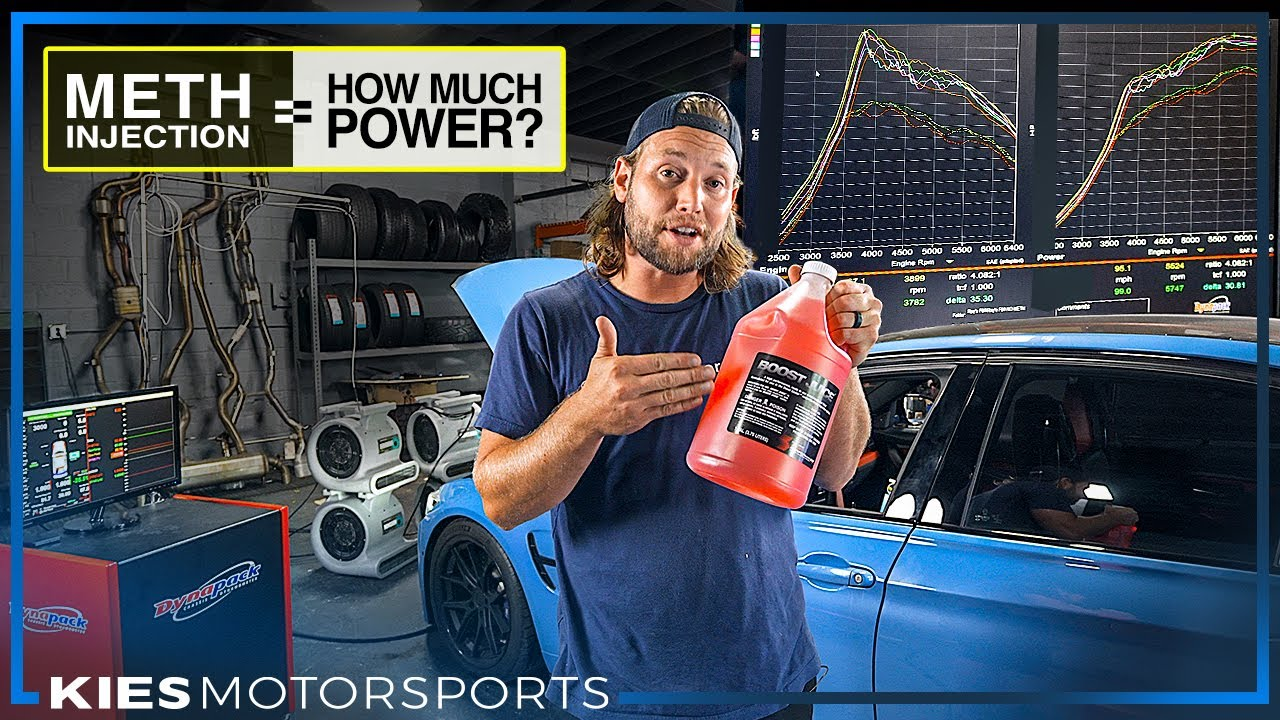 Download DYNO TEST: HOW MUCH POWER DOES WATER-METHANOL INJECTION WITH A CUSTOM TUNE REALLY ADD?! (BMW F80 M3)