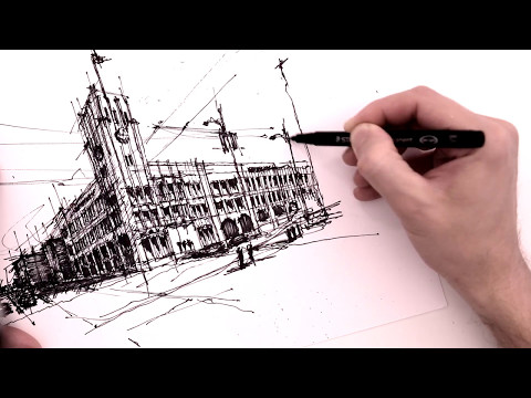 San Francisco Chronicle - Architectural Sketch