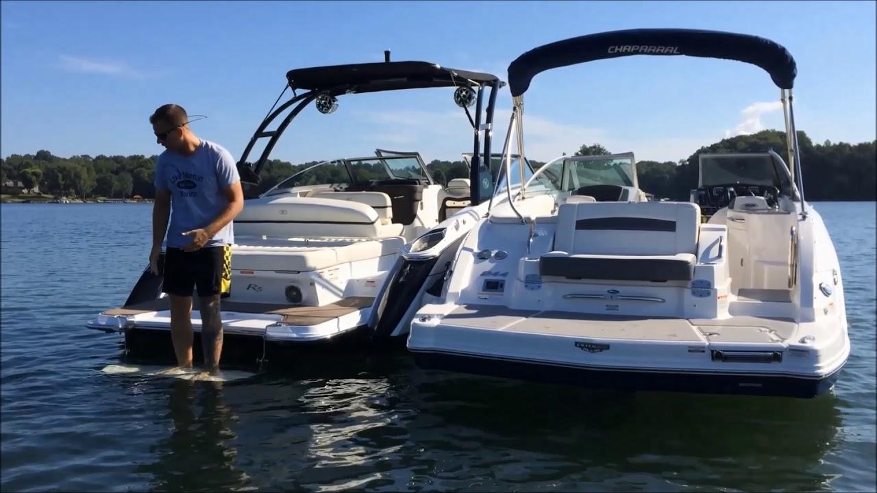 Cobalt Boats Swim Platform - Lake Norman Marina