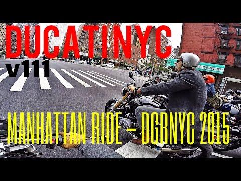 Ducati NYC v111 - SQUID LIFE - Lower Manhattan Tour - Chasing Distinguished Gentleman DGRNYC 2015