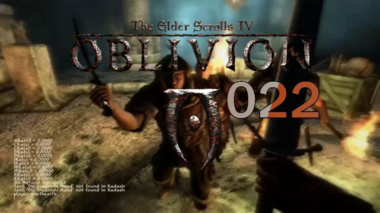 Let S Play The Elder Scrolls Iv Oblivion 022 Tod Durch Magier Youtube
