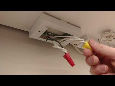 Convert plug in lighting to direct wire and other tips and