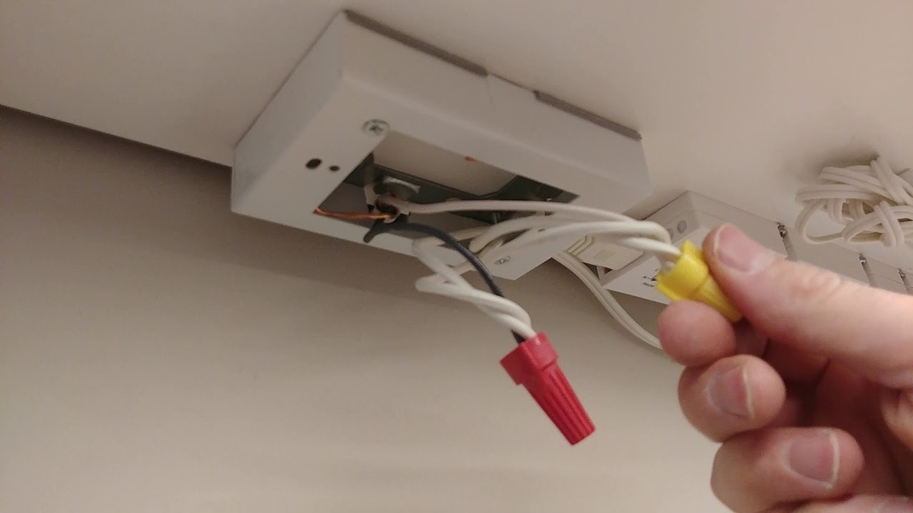 Convert plug in lighting to direct wire and other tips and tricks for Ikea  Omlopp