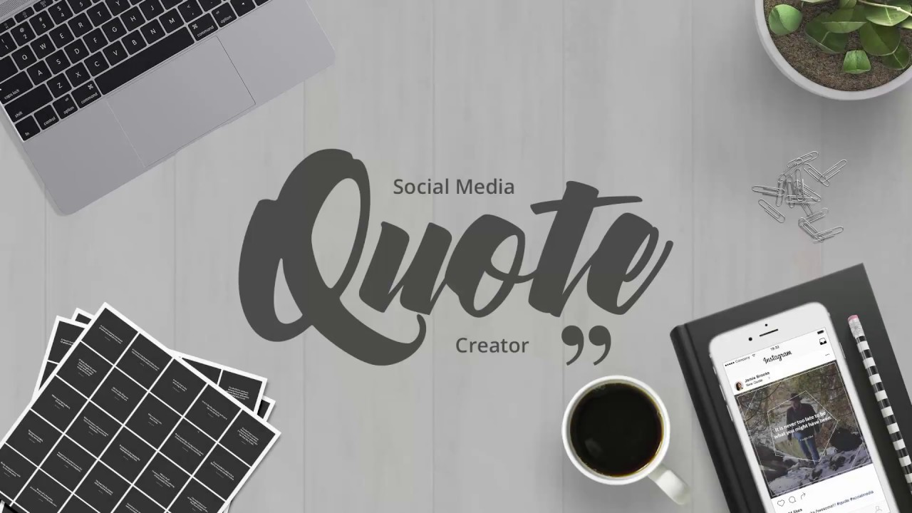 Quotes Creator Social Media Quotes Creator  Youtube