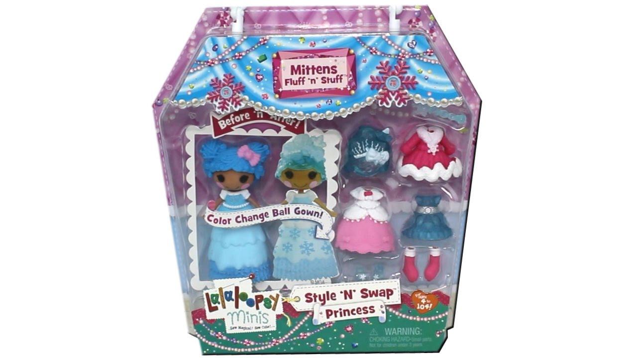 Lalaloopsy Minis Princess Doll Mittens Fluff \'n\' Stuff Unboxing ...