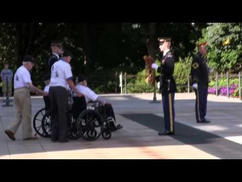 Arlington National Cemetery Wreath Laying Ceremony