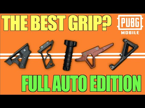 What is The Best Grip in Pubg Mobile?
