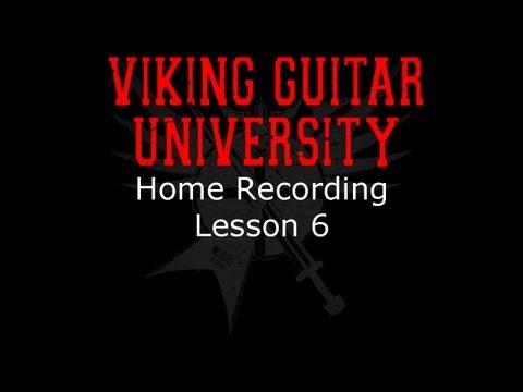 Home Recording - Lesson 6 - MIDI - Viking Guitar University