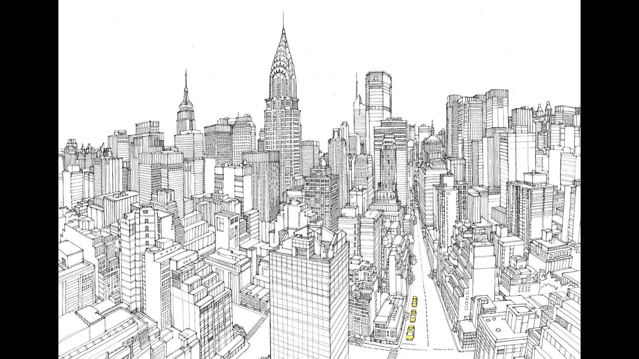 City illustration