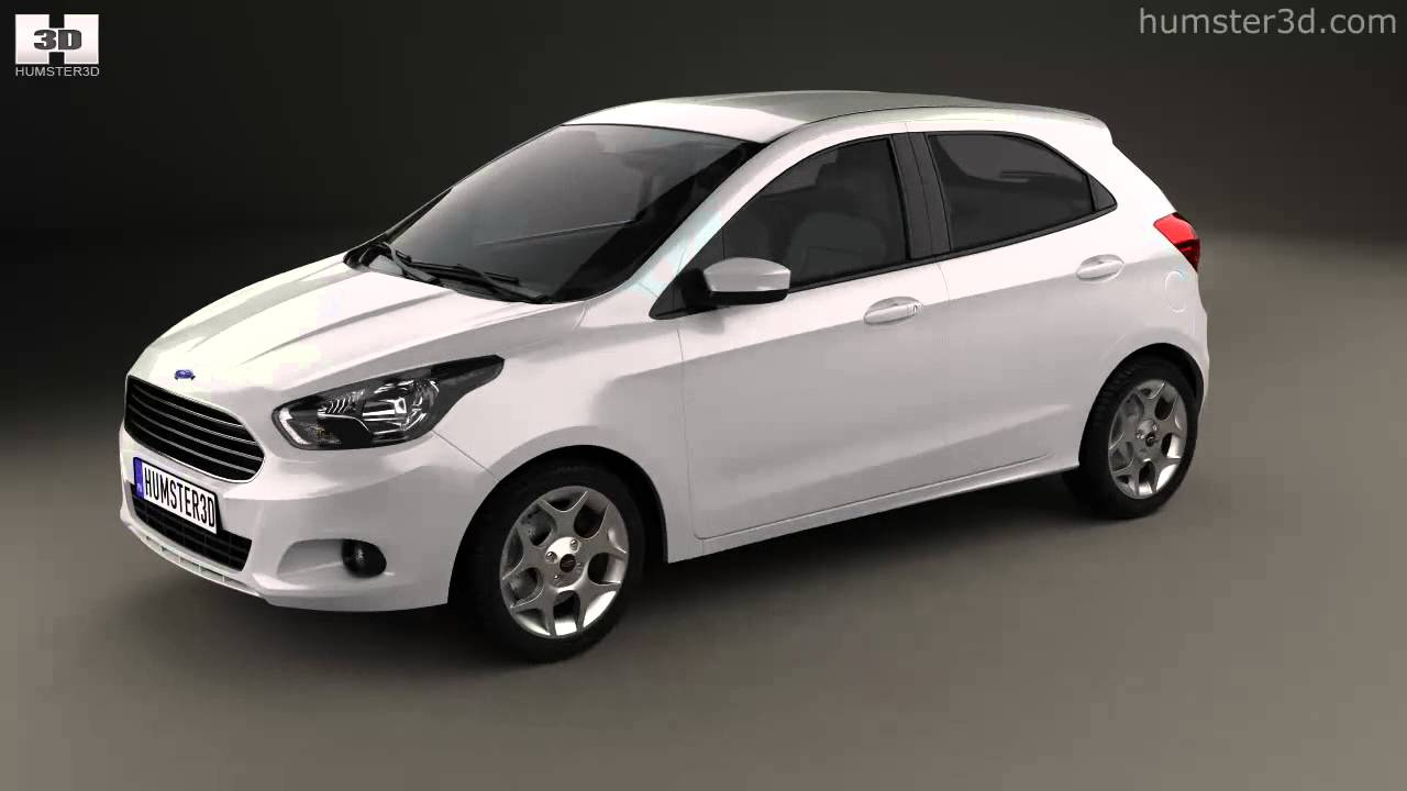 Ford Ka 2014 By 3D Model Store Humster3D