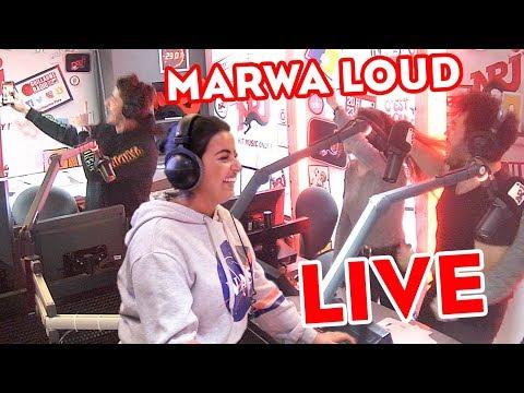 """MARWA LOUD N'ARRIVE PLUS À CHANTER """"FALLAIT PAS"""" EN LIVE SUR NRJ"""