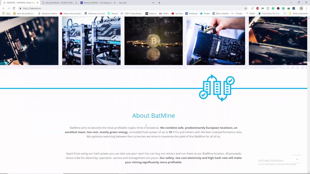 crypto mining ico