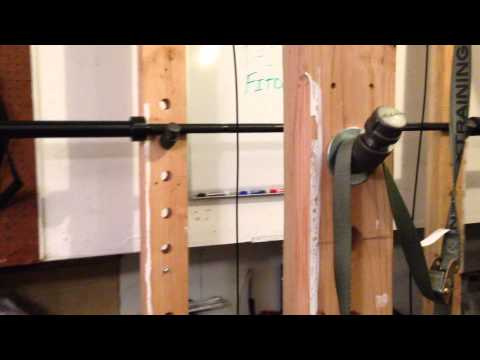 Wooden Power Rack - Plans On How To Build One -