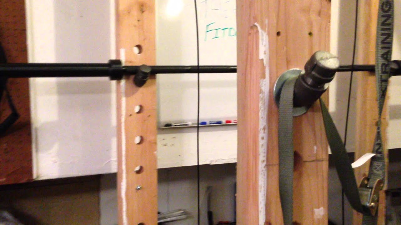 Wooden Power Rack - Plans On How To Build One - - YouTube