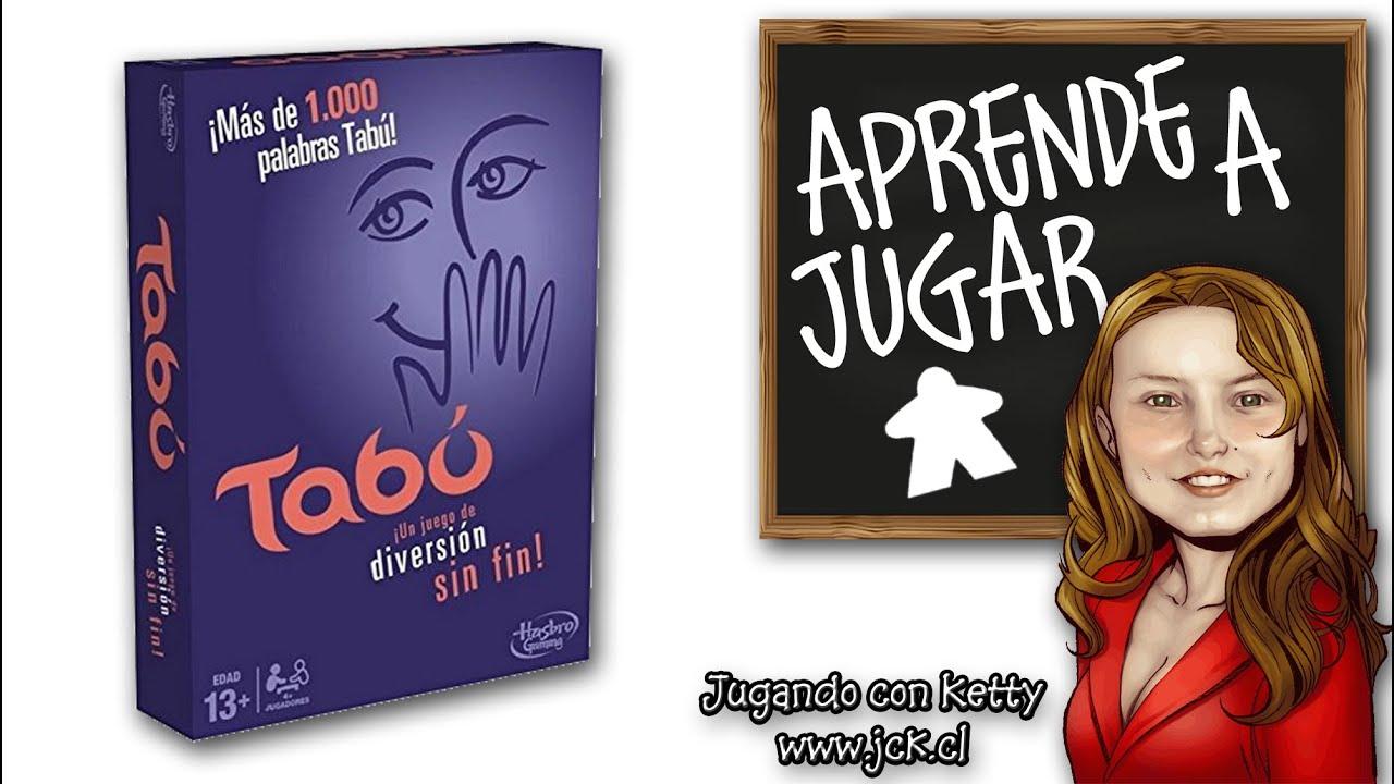 Taboo tab juego de mesa boardgame youtube for Juego de mesa tabu precio