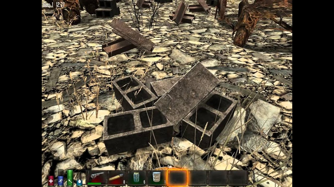 7 days to die how to make gravel