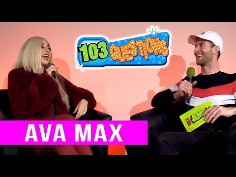 103 Questions: AVA MAX