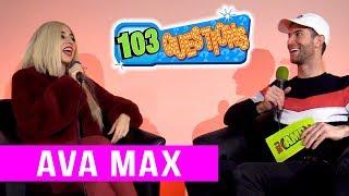 103 Questions: AVA MAX Video