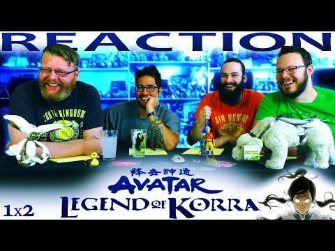 """The Legend of Korra 1x2 REACTION!! """"A Leaf in the Wind"""""""