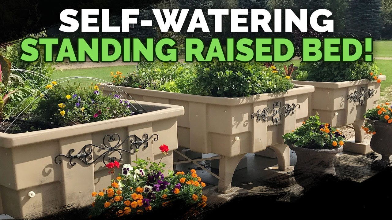 This 1 500lb Self Watering Raised Bed