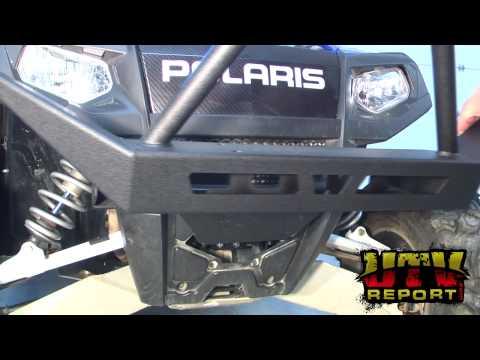 Warn Front Winch Bumper Installation On Polaris RZR 4 YouTube