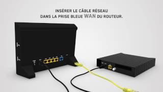 Installez votre routeur en 4 étapes