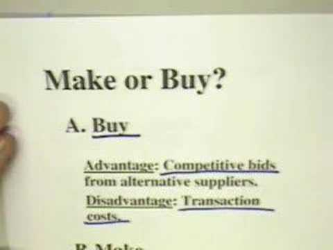 make or buy decision 2 essay If your job is to make someone in higher ed write your company a check -- well --  good luck with that  a seat at the technology buying decision making table have  multiplied challenge #2- the fragmenting of edtech.