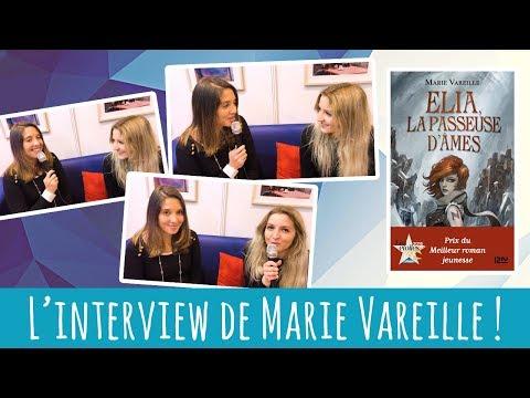 Livre Paris : l'interview de Marie Vareille !