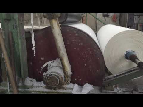 Waste paper recycling machine: 3tons/day tissue paper making machine