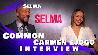 Common and Carmen Ejogo - SELMA interview exclusive