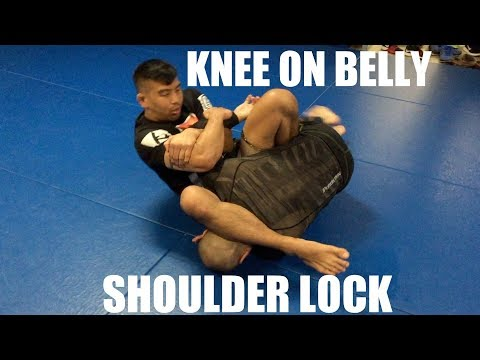 Knee on Belly | Shoulder Lock with Professor Kris Kim, Seoul, Korea