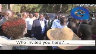 CORD leader   Raila Odinga angrily dismisses 'noisemaking' idlers from Orange House