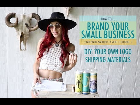 How To Brand Your Small Business, DIY Logo Tissue Paper, packaging ideas for gift or online shop