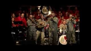 "Biohazard Brass Band Live in Houston ""Runaway Baby"", ""Deck the Halls"""