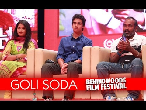 """""""I had tried every actor possible"""" - Vijay Milton - Golisoda, Best Tamil movie at BFF 2015"""