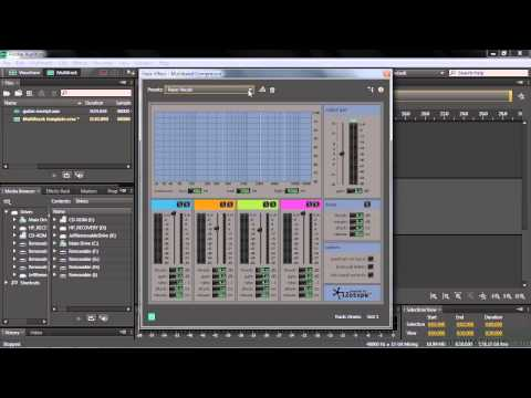 Adobe Audition CC Tutorial | Customizing A Multitrack Session And Creating A Template