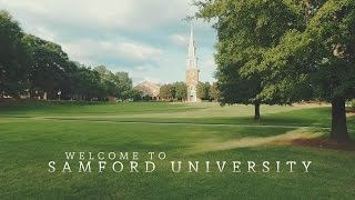 This is your time, this is your school.  Welcome to Samford.